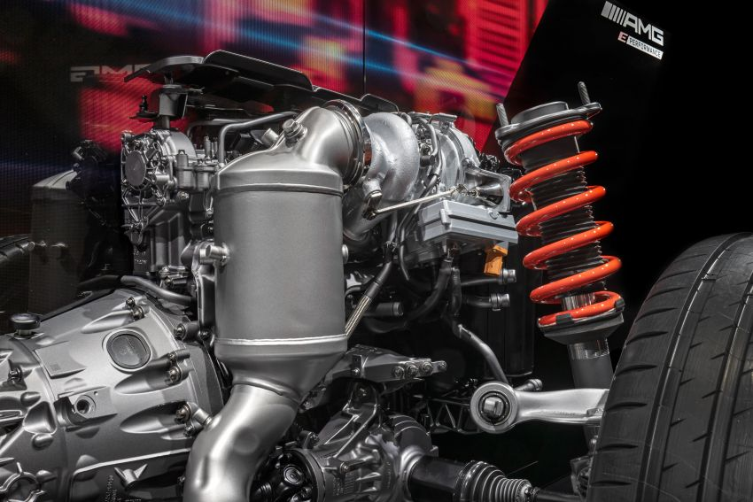 Mercedes-AMG E Performance strategy detailed – four-cylinder C63; powertrains with over 816 PS, 1,000 Nm Image #1271738