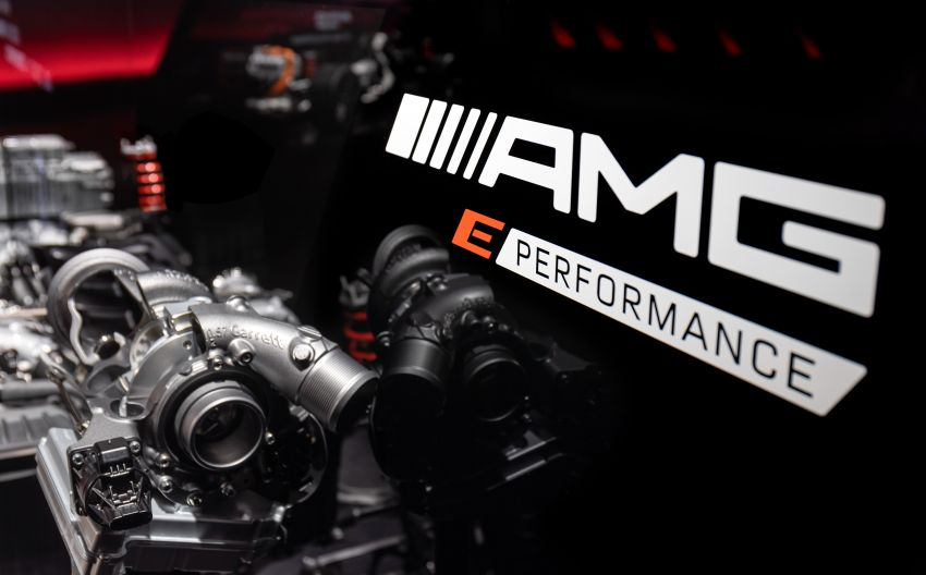 Mercedes-AMG E Performance strategy detailed – four-cylinder C63; powertrains with over 816 PS, 1,000 Nm Image #1271742