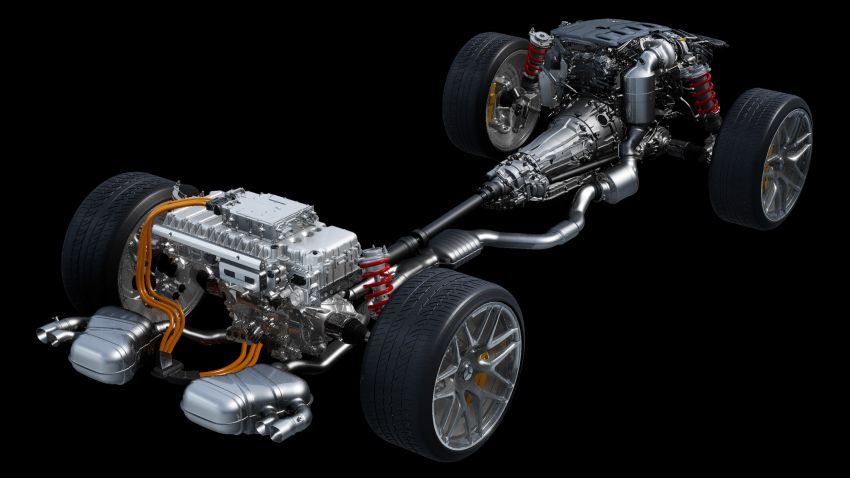 Mercedes-AMG E Performance strategy detailed – four-cylinder C63; powertrains with over 816 PS, 1,000 Nm Image #1271746