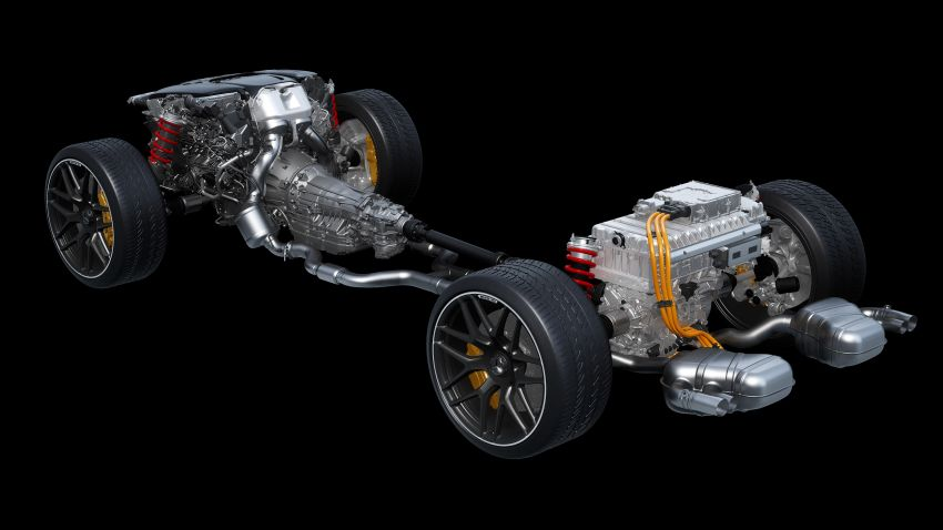Mercedes-AMG E Performance strategy detailed – four-cylinder C63; powertrains with over 816 PS, 1,000 Nm Image #1271748