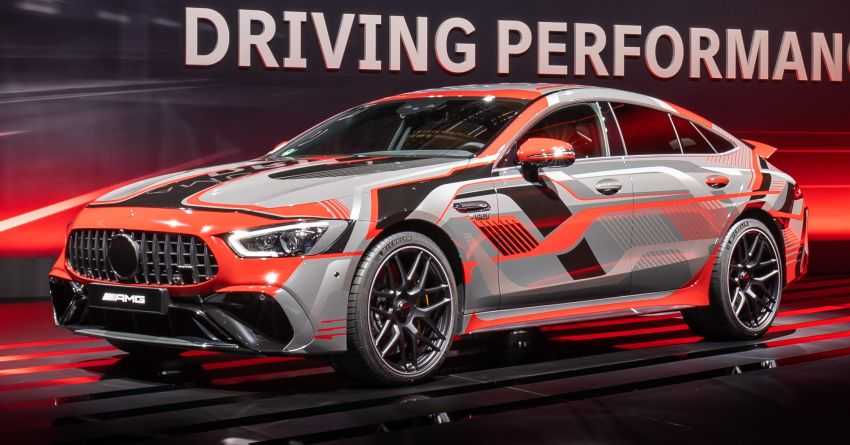 Mercedes-AMG E Performance strategy detailed – four-cylinder C63; powertrains with over 816 PS, 1,000 Nm Image #1271721