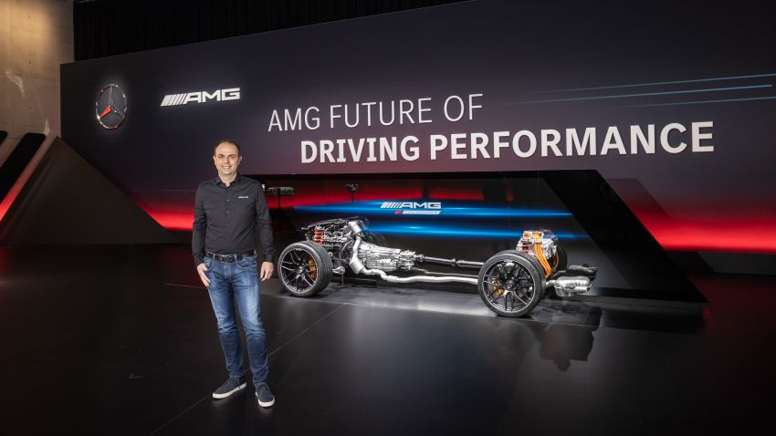 Mercedes-AMG E Performance strategy detailed – four-cylinder C63; powertrains with over 816 PS, 1,000 Nm Image #1271771