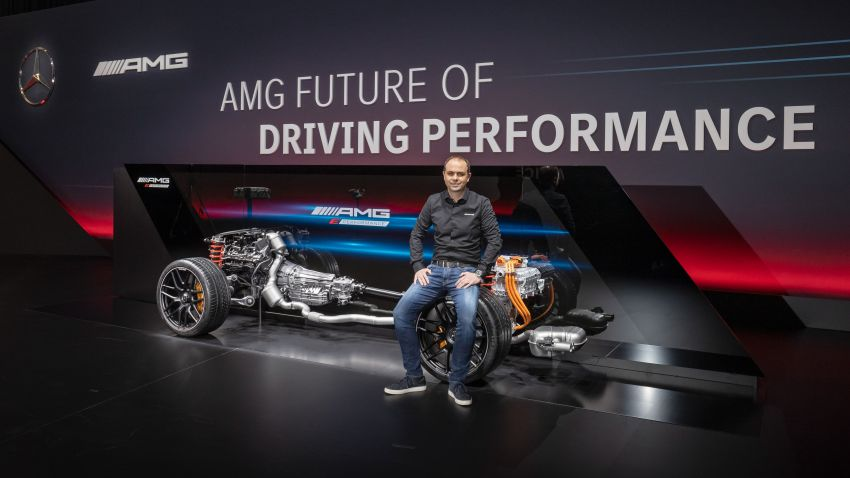 Mercedes-AMG E Performance strategy detailed – four-cylinder C63; powertrains with over 816 PS, 1,000 Nm Image #1271772