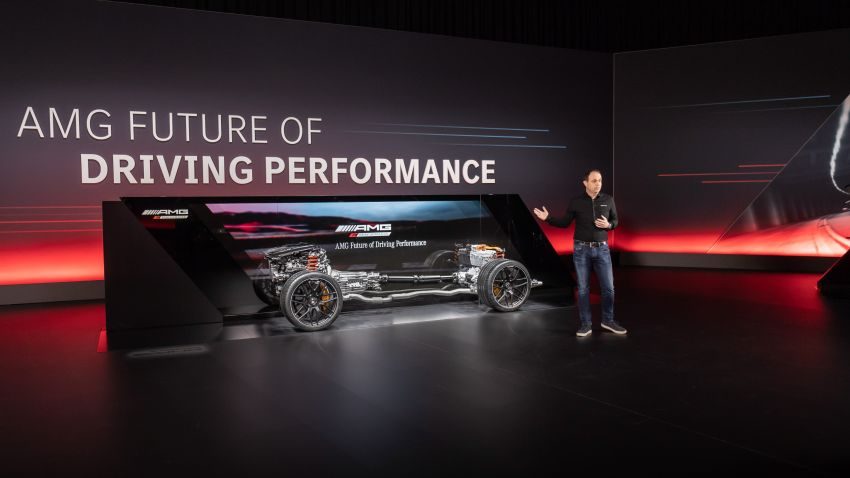 Mercedes-AMG E Performance strategy detailed – four-cylinder C63; powertrains with over 816 PS, 1,000 Nm Image #1271774