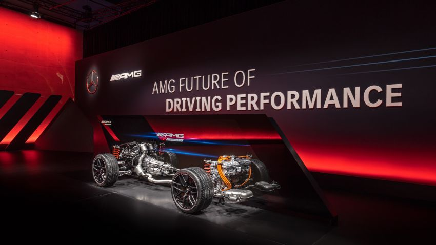 Mercedes-AMG E Performance strategy detailed – four-cylinder C63; powertrains with over 816 PS, 1,000 Nm Image #1271724