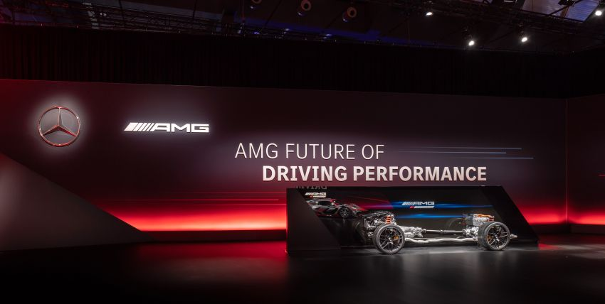 Mercedes-AMG E Performance strategy detailed – four-cylinder C63; powertrains with over 816 PS, 1,000 Nm Image #1271725