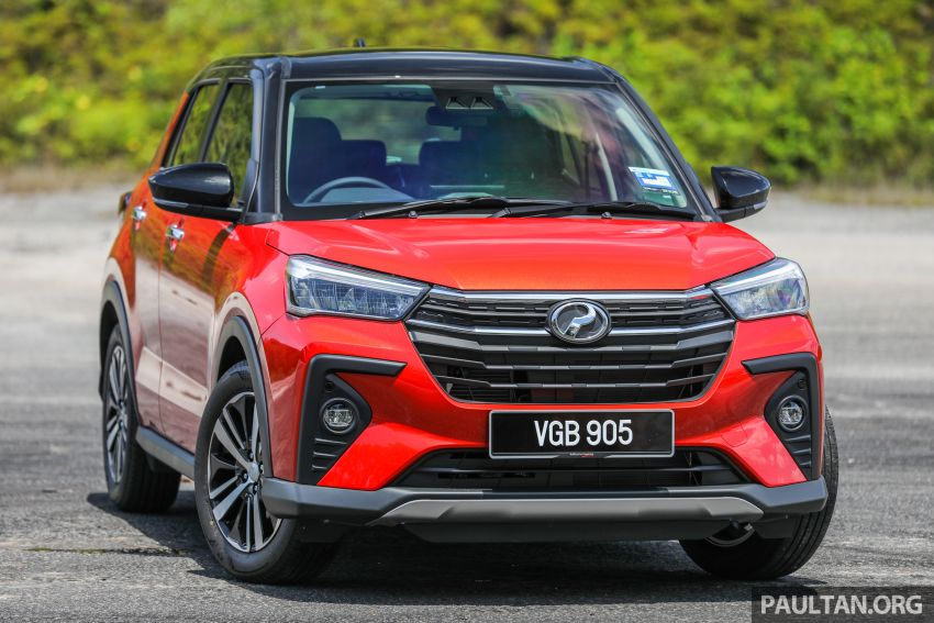 GALLERY: Perodua Ativa vs Kembara – new modern SUV placed side by side with P2's original mini 4×4 Image #1261292