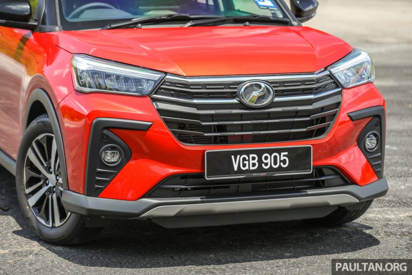 GALLERY: Perodua Ativa vs Kembara – new modern SUV placed side by side with P2's original mini 4×4 Image #1261297