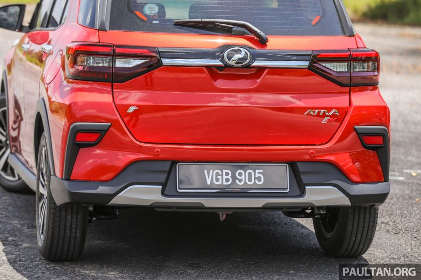GALLERY: Perodua Ativa vs Kembara – new modern SUV placed side by side with P2's original mini 4×4 Image #1261299