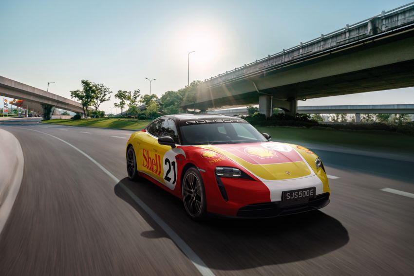 Porsche, Shell announce EV charging network in Malaysia; six charging stations ready by 1H 2022 Image #1272043