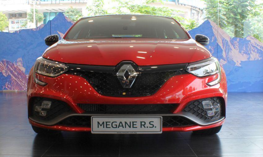 Renault Megane RS 300 Trophy <em>facelift</em> kini di Malaysia — 300 PS dan 420 Nm, EDC Auto sahaja, RM326k Image #1268911