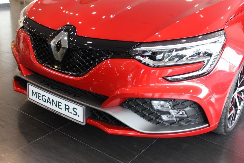 Renault Megane RS 300 Trophy <em>facelift</em> kini di Malaysia — 300 PS dan 420 Nm, EDC Auto sahaja, RM326k Image #1268912