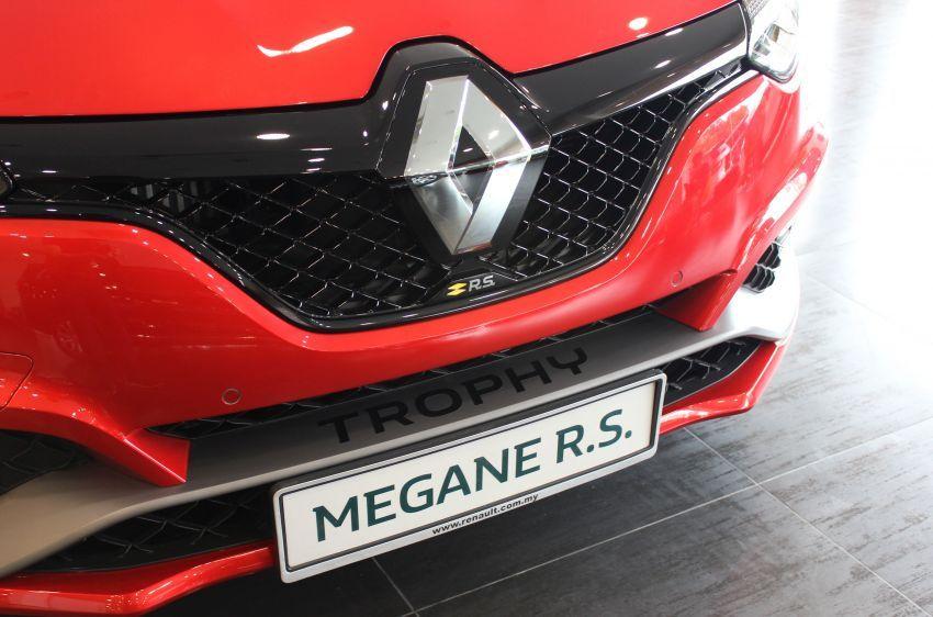 Renault Megane RS 300 Trophy <em>facelift</em> kini di Malaysia — 300 PS dan 420 Nm, EDC Auto sahaja, RM326k Image #1268915