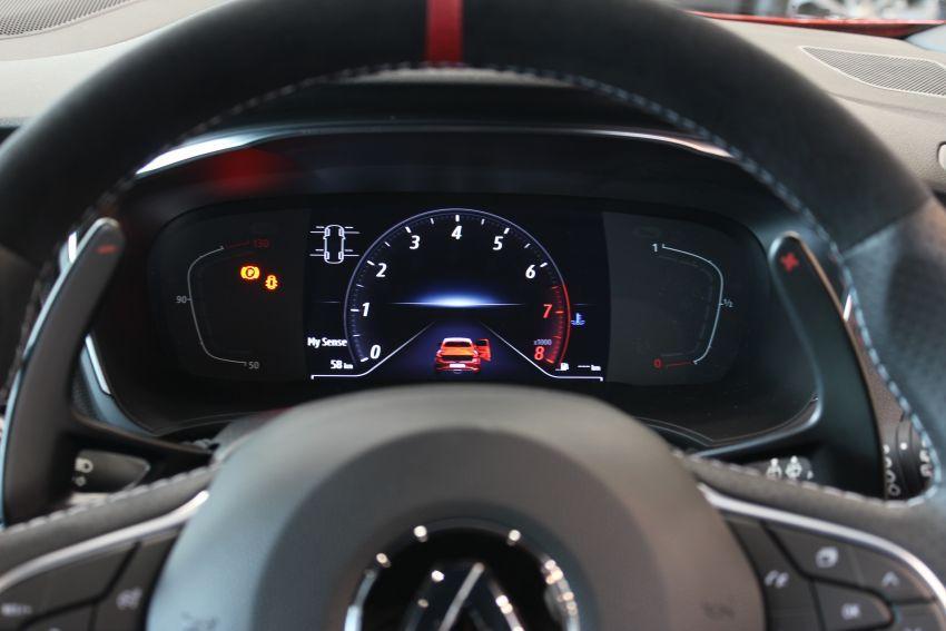 Renault Megane RS 300 Trophy <em>facelift</em> kini di Malaysia — 300 PS dan 420 Nm, EDC Auto sahaja, RM326k Image #1268930