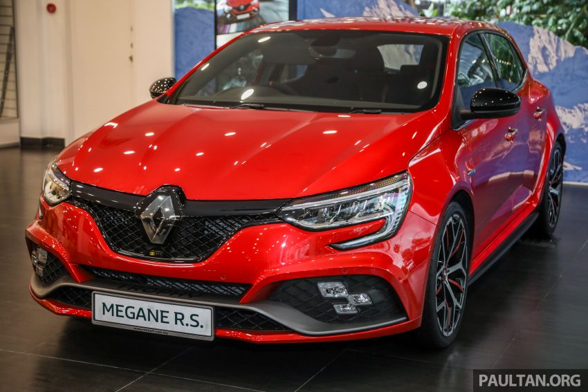 GALLERY: Renault Megane RS 300 Trophy in Malaysia – facelift is EDC auto-only, 20 PS/30 Nm more, RM326k Image #1269205