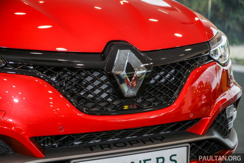 GALLERY: Renault Megane RS 300 Trophy in Malaysia – facelift is EDC auto-only, 20 PS/30 Nm more, RM326k Image #1269218