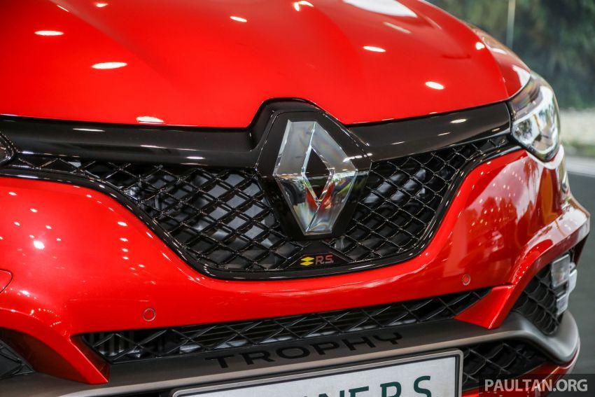 GALERI: Renault Megane RS 300 Trophy <em>facelift</em> tiba di Malaysia — 300 PS/420 Nm, EDC Auto, harga RM328k Image #1269134