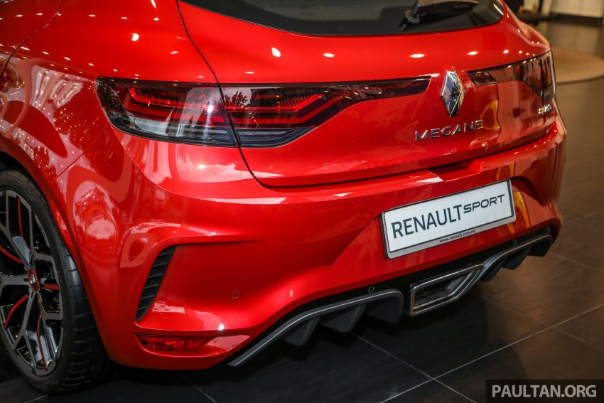 GALERI: Renault Megane RS 300 Trophy <em>facelift</em> tiba di Malaysia — 300 PS/420 Nm, EDC Auto, harga RM328k Image #1269144