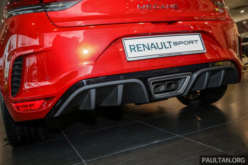 GALERI: Renault Megane RS 300 Trophy <em>facelift</em> tiba di Malaysia — 300 PS/420 Nm, EDC Auto, harga RM328k Image #1269150
