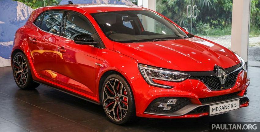 GALERI: Renault Megane RS 300 Trophy <em>facelift</em> tiba di Malaysia — 300 PS/420 Nm, EDC Auto, harga RM328k Image #1269124