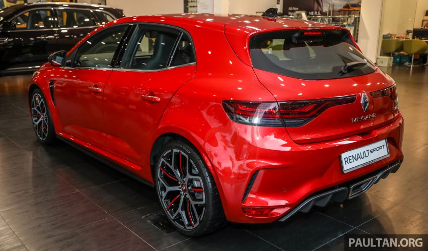 GALLERY: Renault Megane RS 300 Trophy in Malaysia – facelift is EDC auto-only, 20 PS/30 Nm more, RM326k Image #1269208