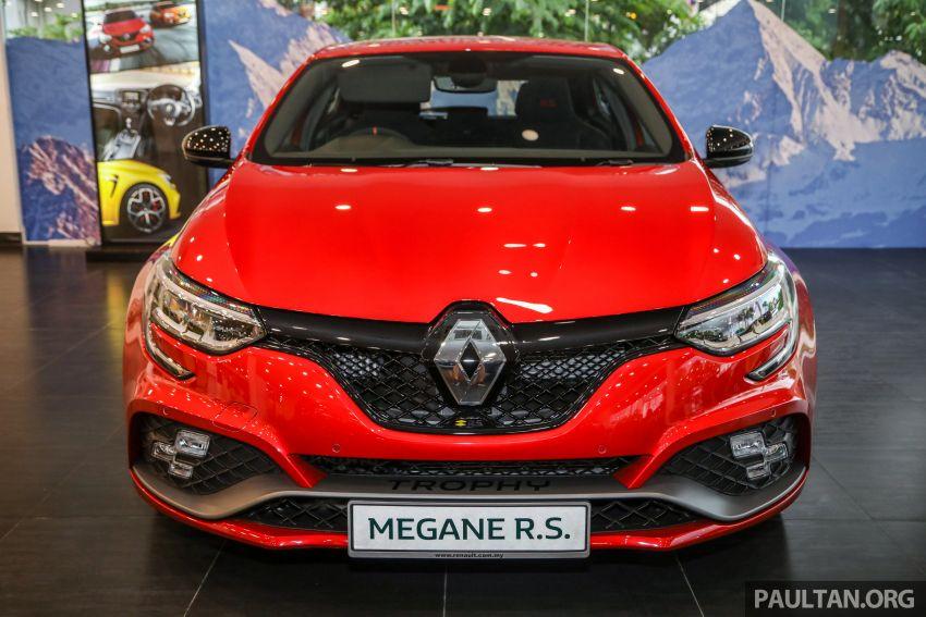 GALERI: Renault Megane RS 300 Trophy <em>facelift</em> tiba di Malaysia — 300 PS/420 Nm, EDC Auto, harga RM328k Image #1269127