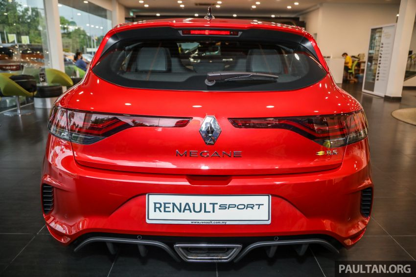 GALLERY: Renault Megane RS 300 Trophy in Malaysia – facelift is EDC auto-only, 20 PS/30 Nm more, RM326k Image #1269210