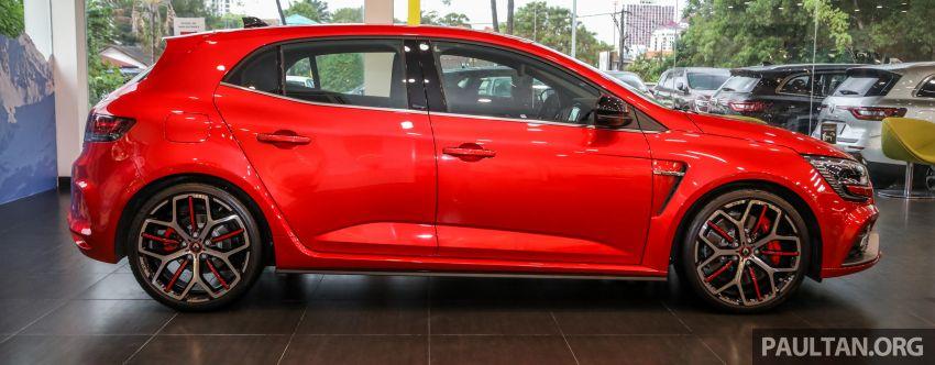 GALERI: Renault Megane RS 300 Trophy <em>facelift</em> tiba di Malaysia — 300 PS/420 Nm, EDC Auto, harga RM328k Image #1269129