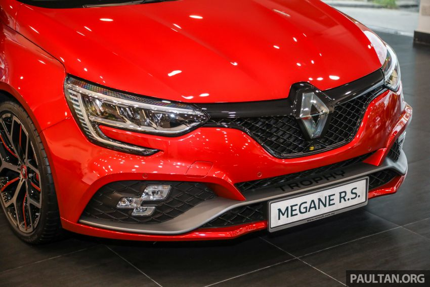 GALLERY: Renault Megane RS 300 Trophy in Malaysia – facelift is EDC auto-only, 20 PS/30 Nm more, RM326k Image #1269212