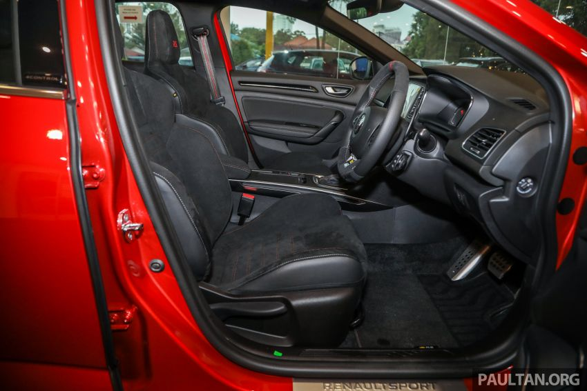GALERI: Renault Megane RS 300 Trophy <em>facelift</em> tiba di Malaysia — 300 PS/420 Nm, EDC Auto, harga RM328k Image #1269176