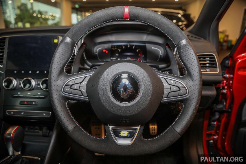 GALERI: Renault Megane RS 300 Trophy <em>facelift</em> tiba di Malaysia — 300 PS/420 Nm, EDC Auto, harga RM328k Image #1269156