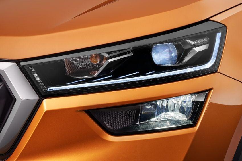 Skoda Kushaq revealed: new B-segment SUV for India Image #1266127