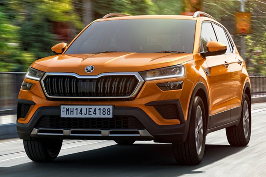 Skoda Kushaq revealed: new B-segment SUV for India Image #1266114