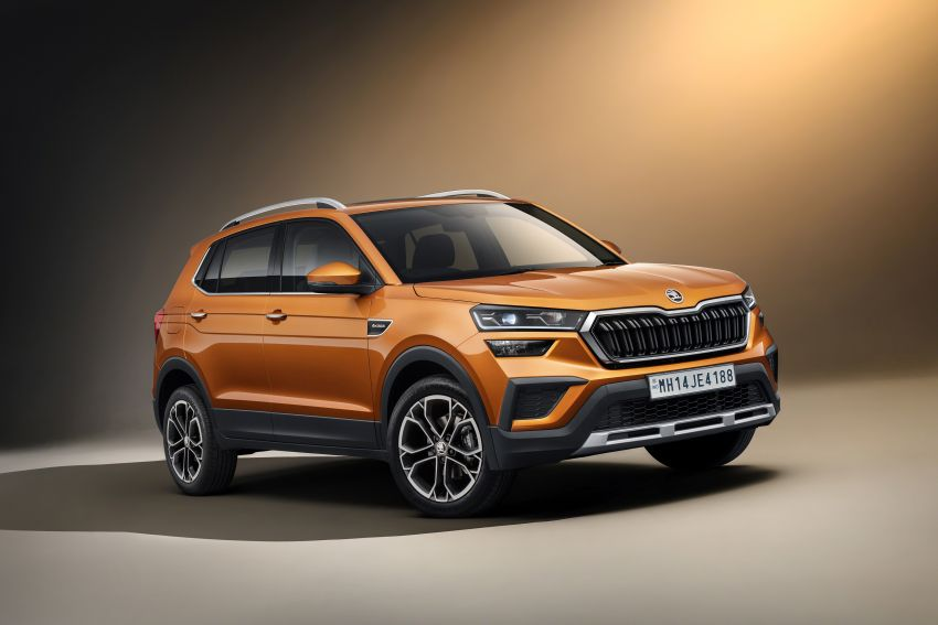Skoda Kushaq revealed: new B-segment SUV for India Image #1266115