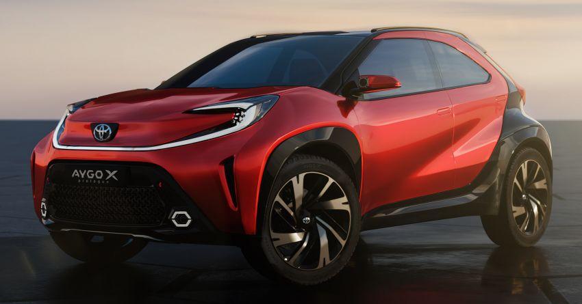 Toyota Aygo X Prologue previews brand's new city car Image #1265010