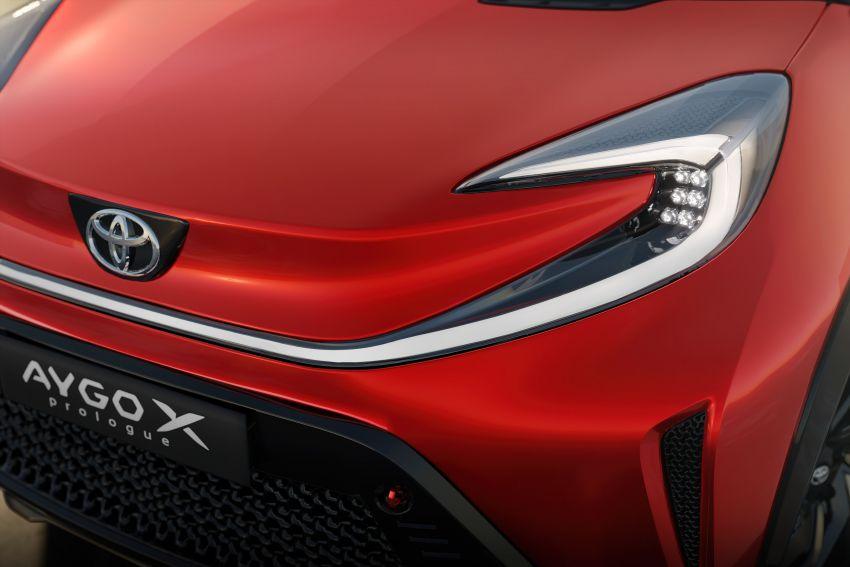 Toyota Aygo X Prologue previews brand's new city car Image #1265025