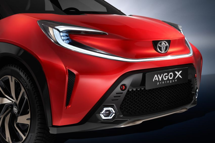 Toyota Aygo X Prologue previews brand's new city car Image #1265038