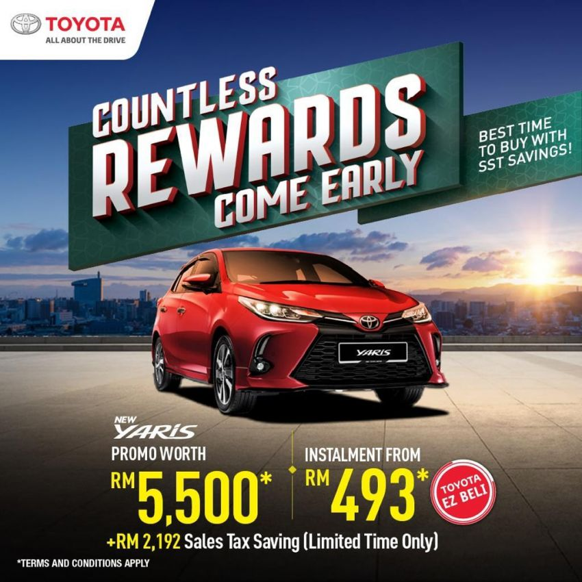 """AD: Get a new Toyota with rebates, accessories worth up to RM5,500 with """"Drive Toyota for Raya"""" promos! Image #1263568"""