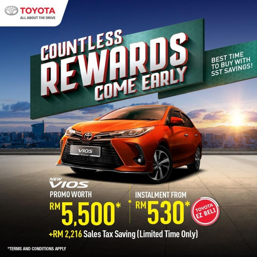 """AD: Get a new Toyota with rebates, accessories worth up to RM5,500 with """"Drive Toyota for Raya"""" promos! Image #1263560"""