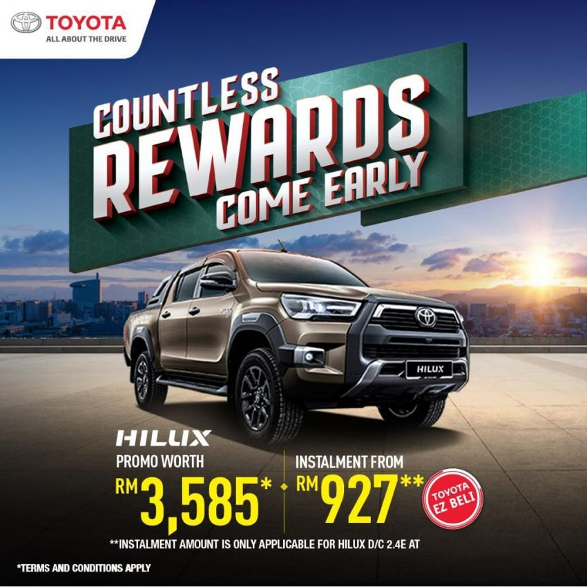 """AD: Get a new Toyota with rebates, accessories worth up to RM5,500 with """"Drive Toyota for Raya"""" promos! Image #1263564"""