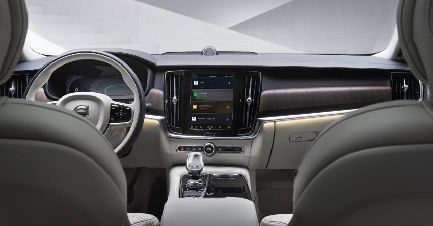 Volvo S90, V90 and V90 Cross Country to be updated with new Android OS-powered infotainment system Image #1260400