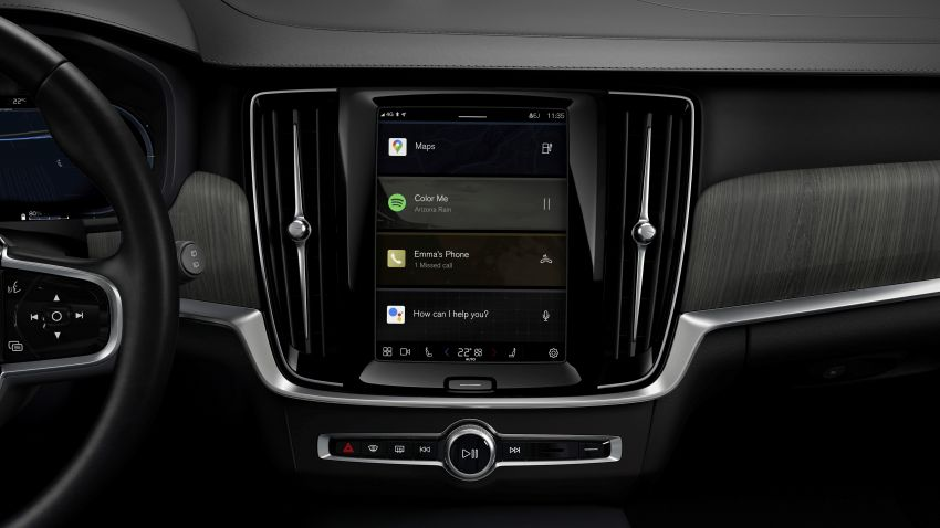 Volvo S90, V90 and V90 Cross Country to be updated with new Android OS-powered infotainment system Image #1260401
