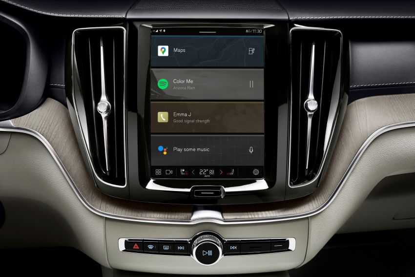 Volvo S90, V90 and V90 Cross Country to be updated with new Android OS-powered infotainment system Image #1260403