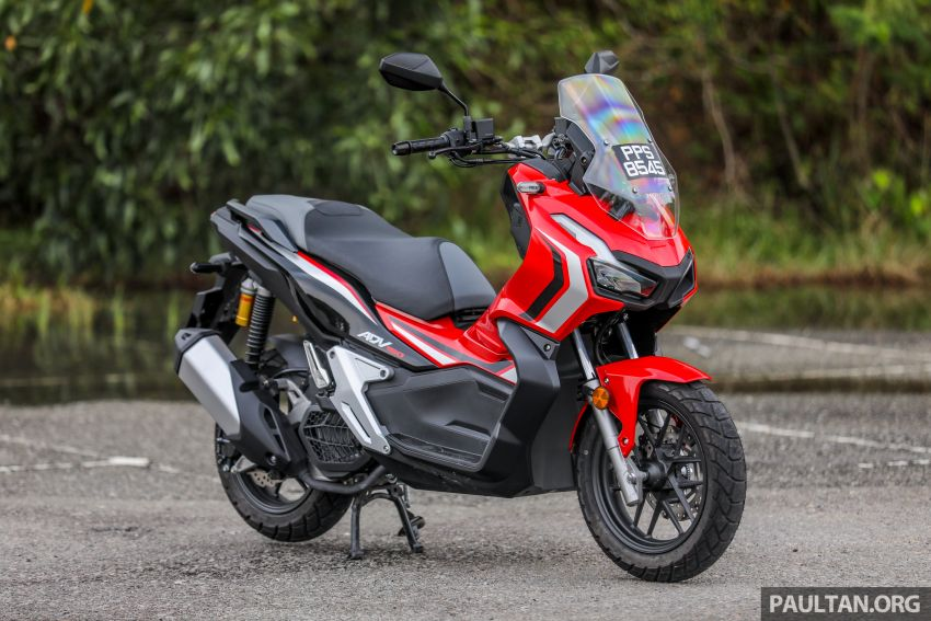 REVIEW: 2021 Honda ADV150, RM11,999, offroad style Image #1275427