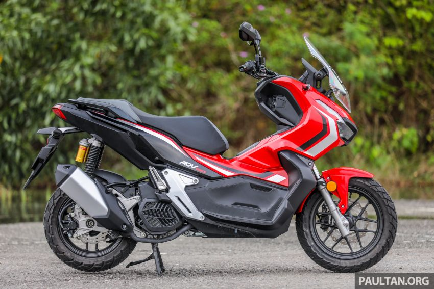 REVIEW: 2021 Honda ADV150, RM11,999, offroad style Image #1275437