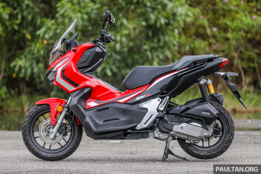 REVIEW: 2021 Honda ADV150, RM11,999, offroad style Image #1275439
