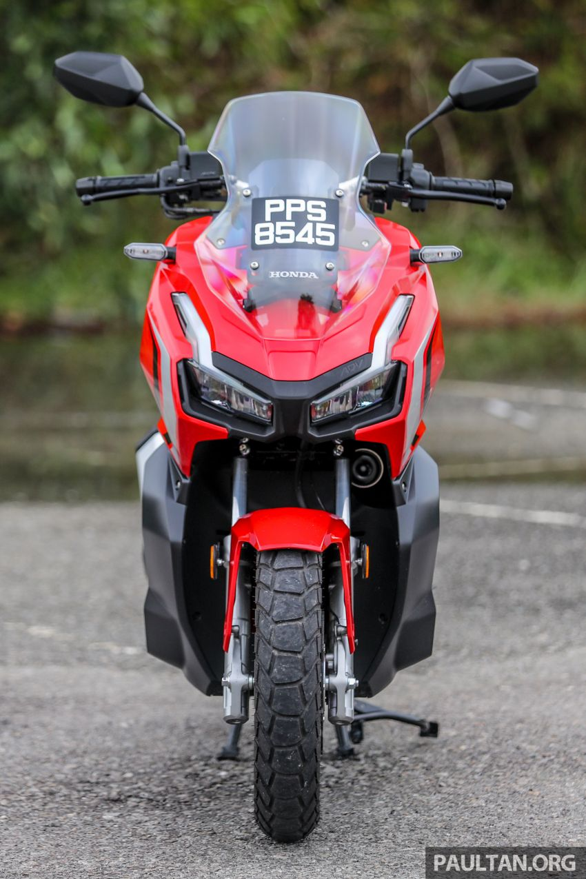 REVIEW: 2021 Honda ADV150, RM11,999, offroad style Image #1275440