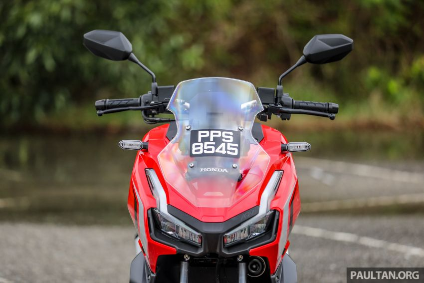 REVIEW: 2021 Honda ADV150, RM11,999, offroad style Image #1275446