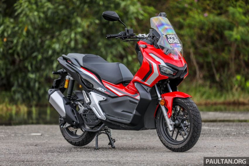 REVIEW: 2021 Honda ADV150, RM11,999, offroad style Image #1275428