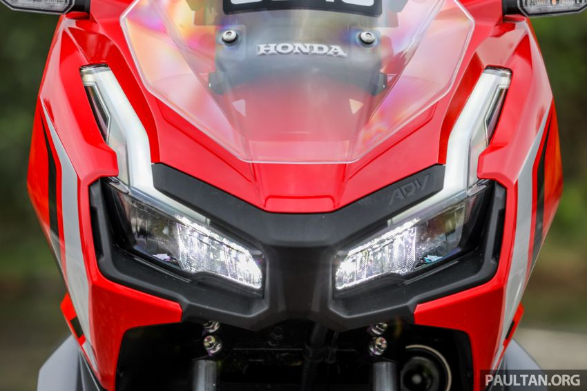 REVIEW: 2021 Honda ADV150, RM11,999, offroad style Image #1275448